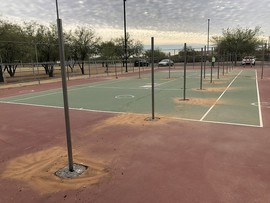 Udall tennis to pickleball