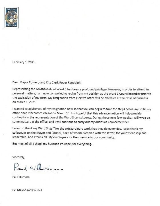 PD Letter