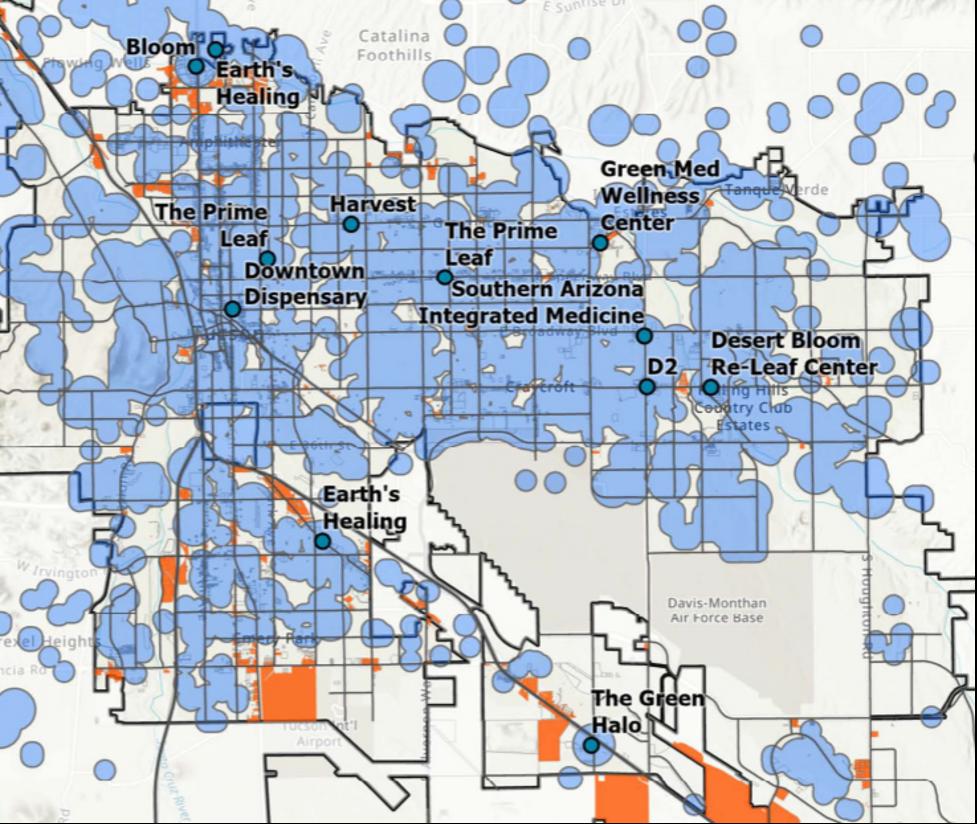 Tucson Map 1