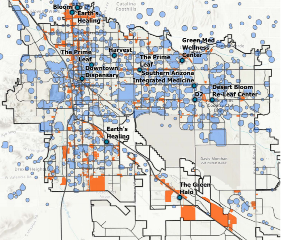 Tucson Map 2