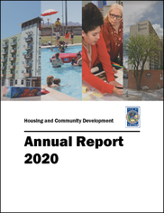 2020 Annual Report Cover with Border