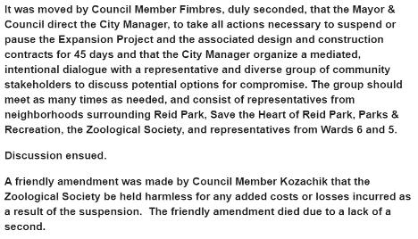 Zoo Amendment