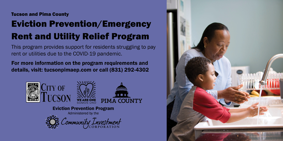 Tucson and Pima County Rent and Utility Assistance Flyer
