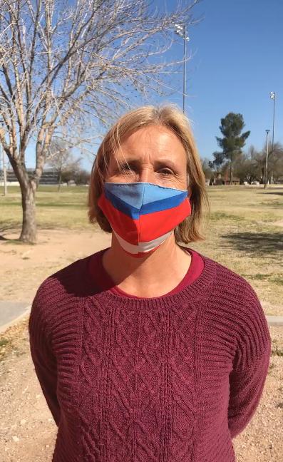 Karin in mask