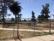 Anza dog park construction