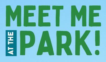 Meet me at the park logo