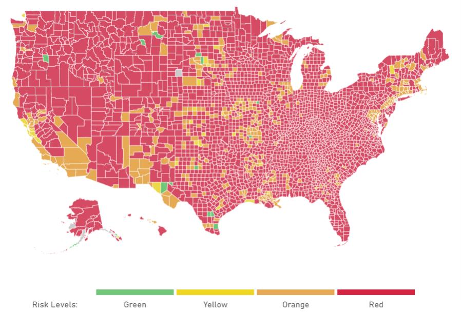 US COVID Map