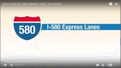 I-580 Express Lanes Video
