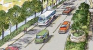 Hesperian Streetscape Rendering