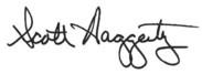 Scott Haggerty Signature