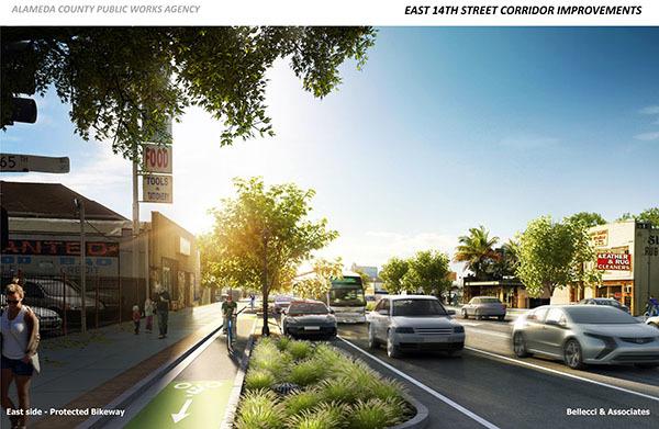 East 14th Street Corridor Improvements