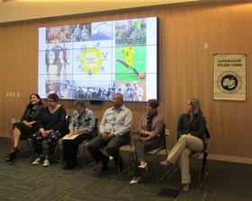 County Update Presenter Panel