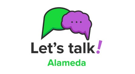Let's Talk Alameda logo