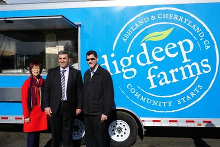 Dig Deep Farms Food Hub Grand Opening