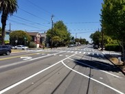 Photo of improvements at Lincoln St at Walnut St