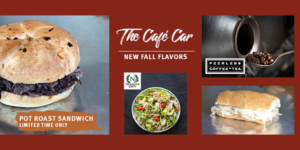 Cafe Car Fall 2018 new items