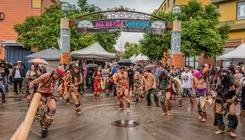 Oakland Dia Los Muertos by Jayasimha Nuggehalli