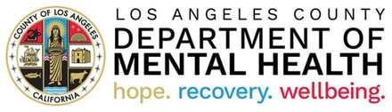Los Angeles County Department of Mental Health logo hope recovery wellbeing