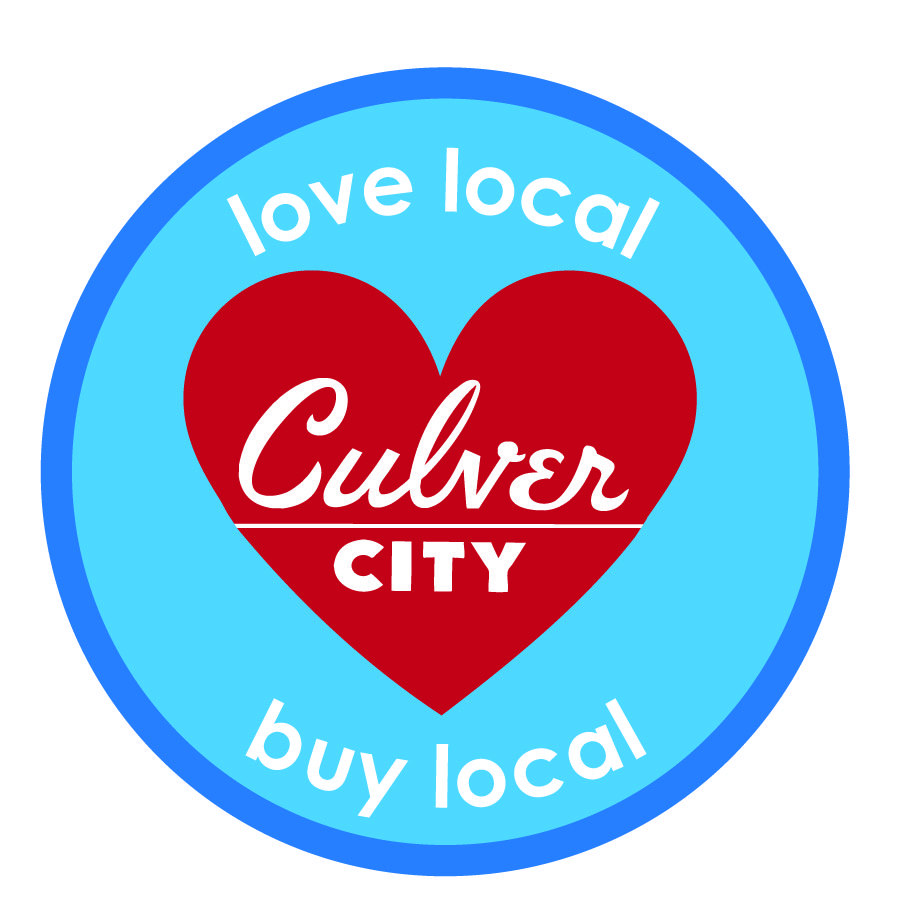 Love Local, Buy Local, Choose Culver City with Heart
