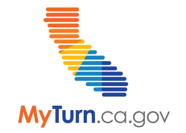 MyTurn.ca.gov California Logo