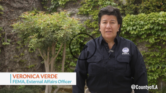 Link to video of FEMA External Affairs Officer, Veronica Verde speaking about the FEMA Funeral Assistance Program