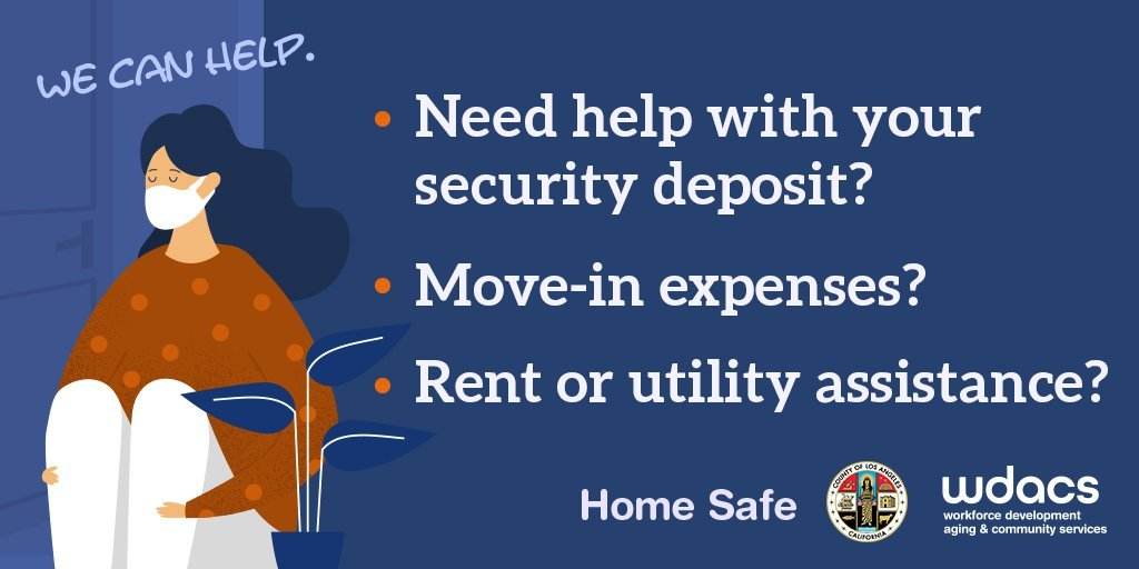 Need help with your security deposit? Move-in expenses? Rent or utility assistance? Home Safe Workforce, Development, Aging & Community Services