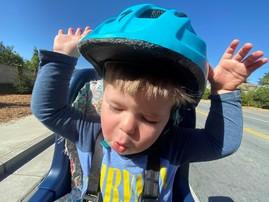 Biking Happy Child