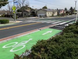 McClellan Rd Separated Bikeway
