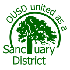 OUSD Sanctuary District Logo