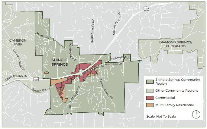 Shingle Springs workshop map