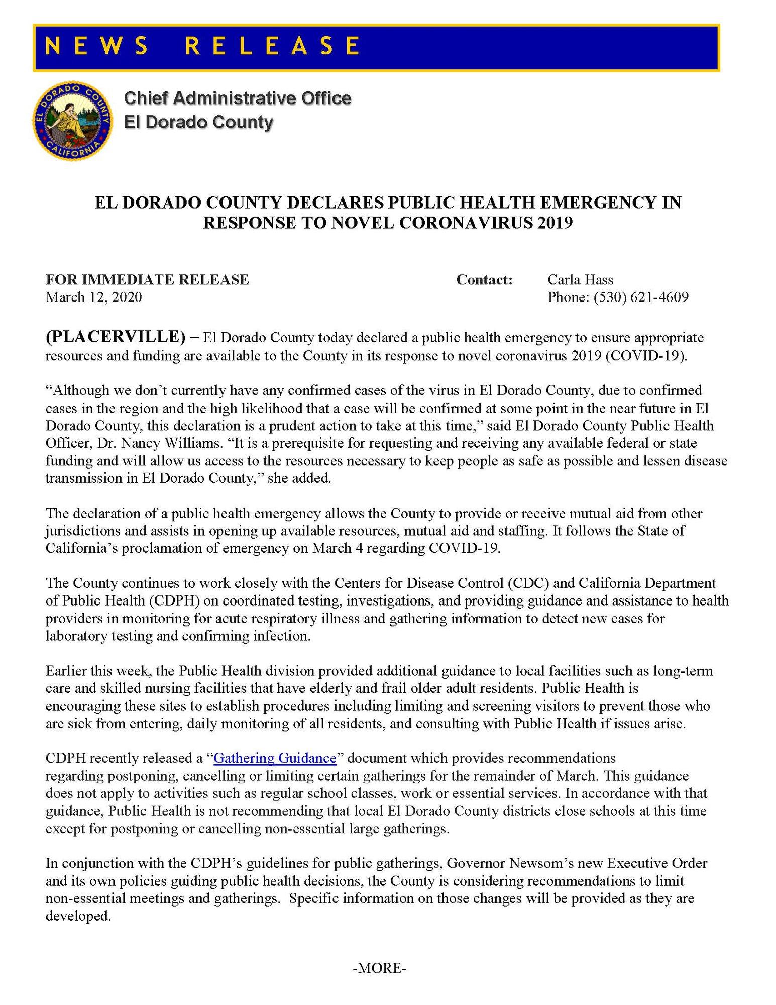 PR 20-6 COVID-19 Public Health Emergency Declaration_Page_1