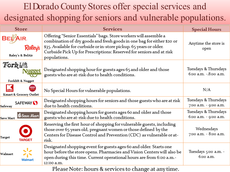 Special Services from Stores