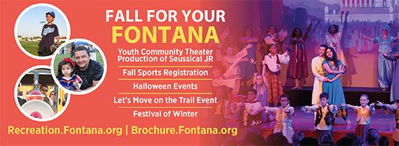 Fall Fontana Activities Brochure