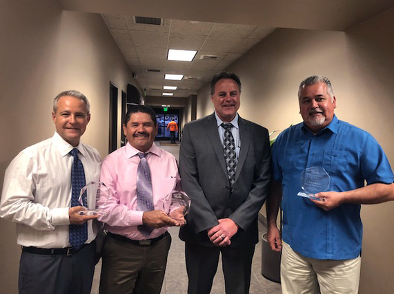 Public Works Employees of the Year