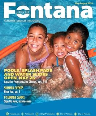 City of Fontana Summer Brochure