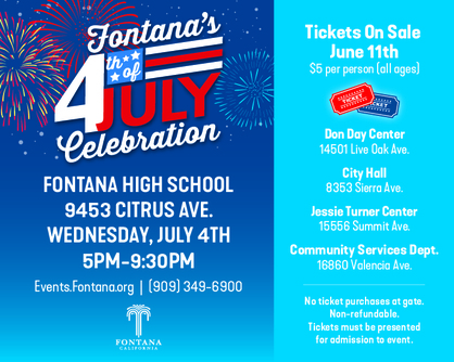 Fontana's 4th of July Celebration
