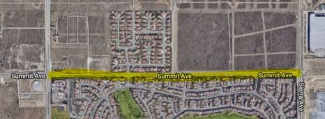Summit Avenue Closure