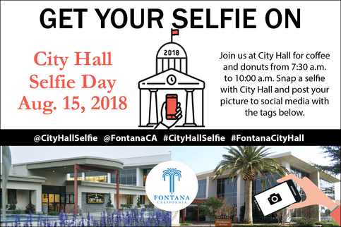 National City Hall Selfie Day 2018