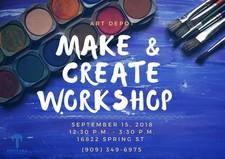 Make & Create Workshop Sept 15