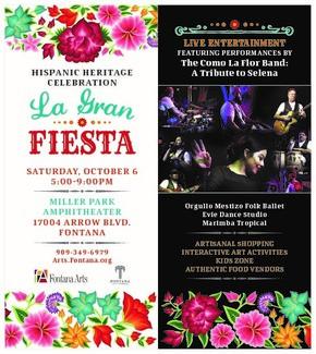 Hispanic Heritage Celebration on Oct. 6