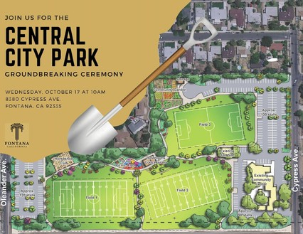 Central City Park Ground-Breaking Ceremony