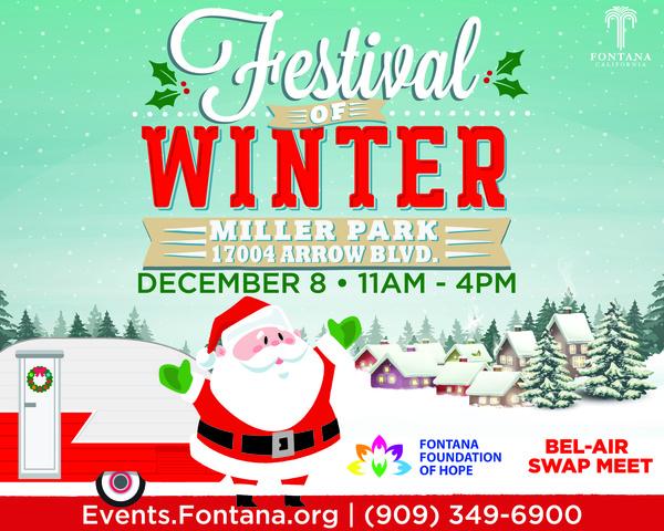 Festival of Winter Dec. 8 at Miller Park