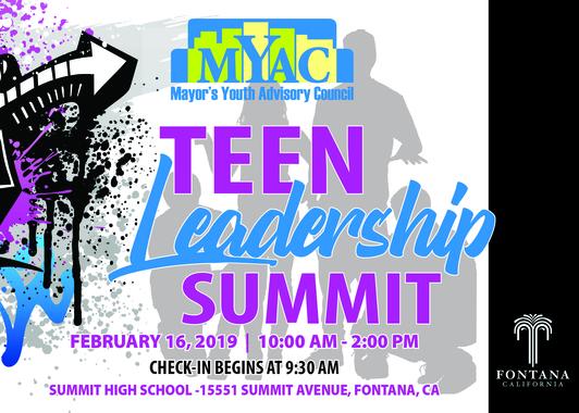 MYAC's Teen Leadership Summit