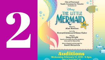 Fontana's Community Youth Theater Presents Disney's The Little Mermaid Jr. - Auditions on Feb.13