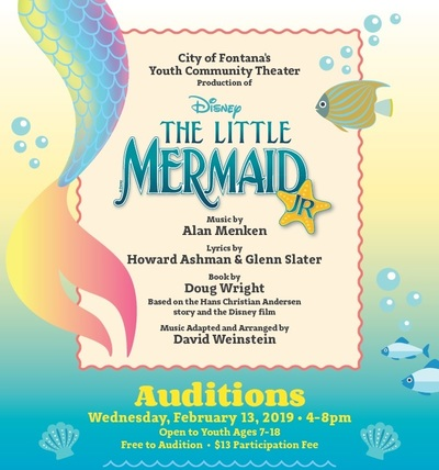Little Mermaid Auditions