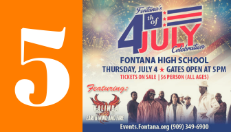 5 - 4th of July Tickets on Sale $6