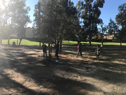 Volunteers clean up at 2018 Southridge Bird Farm