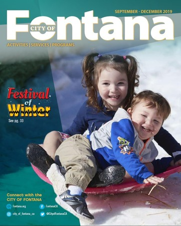 2019 Fall Activities Brochure Available Online