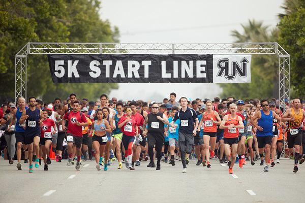 Fontana Days Run 2019 Start Line