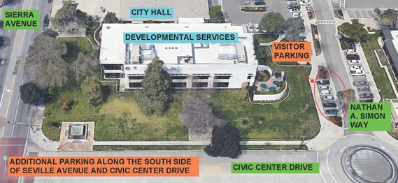 City Hall and Police Department Parking Lot Construction